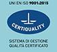 Sistema di gestione qualificato certificato