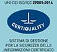 Sistema di gestione per la sicurezza delle informazioni certificato